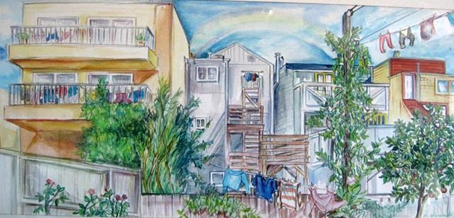 Backyard in the Neighborhood SF Richmond  District
