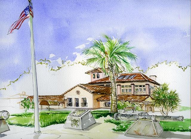 Officer's Club - SF, Presidio