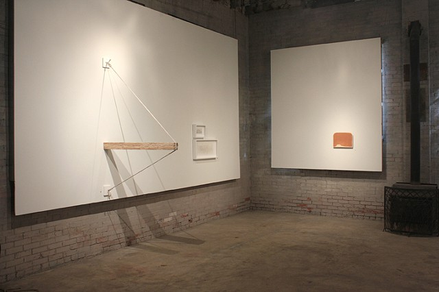 """""""keep an ear to the ground"""" solo exhibition, Hinterland Art Space"""