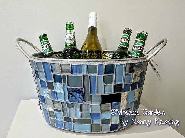 Mosaic Beverage Tub