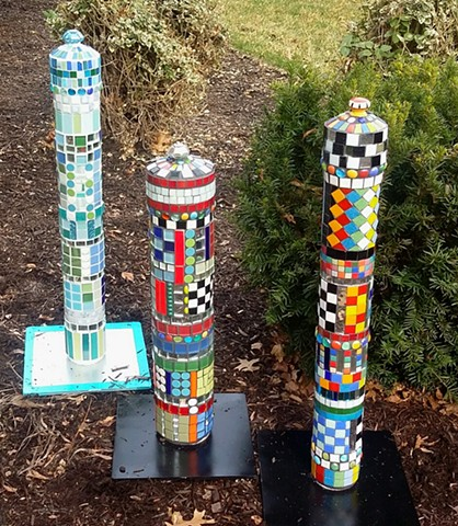 MosaicsGarden by Nancy Keating