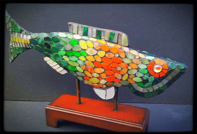 "A Fish Entitled, ""Wanda"" SOLD"