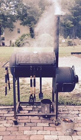 Custom smoker fabrication. Smoked meats.