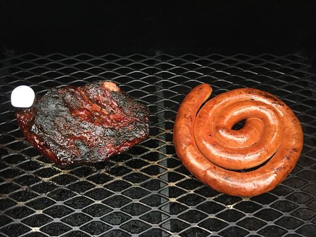 Smoked Kielbasa & Pork