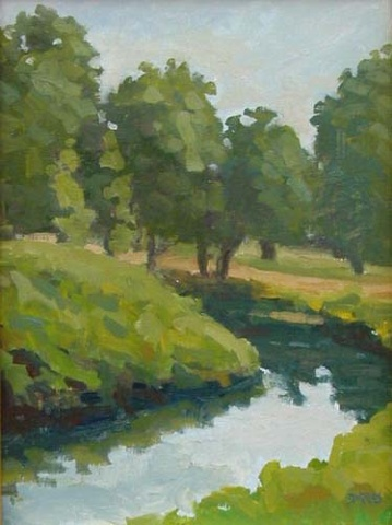 July Day - Old Lyme 12x9