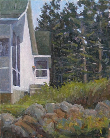 Port Clyde Cottage 20x16