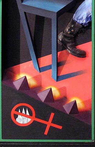 Fusion Caskets (1972 - 1984)  detail (panel #4)