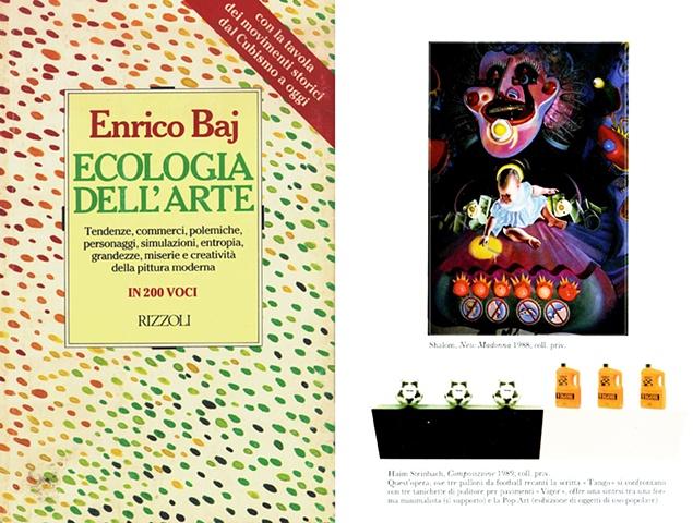 ECOLOGIA DELL'ARTE Enrico Baj Rizzoli