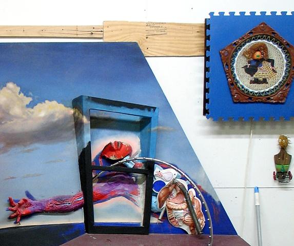 Untitled Studio Installation, detail
