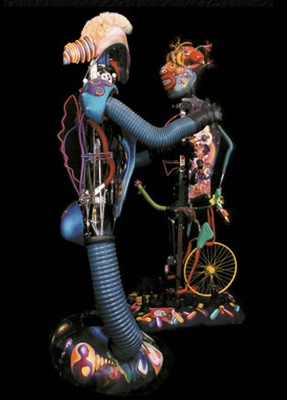 shalom neuman fusion golem robotic scuptures