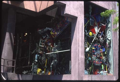 Window Installation  Saireido Gallery Soho, NYC