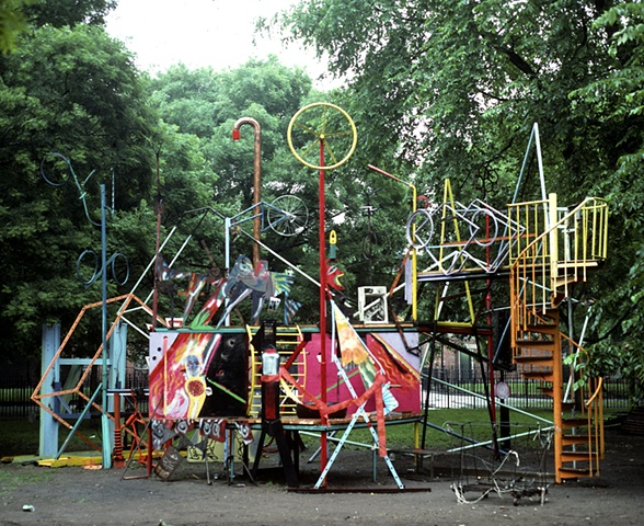 World Installation  Summer Solstice Thompkins Square Park East Village, NYC