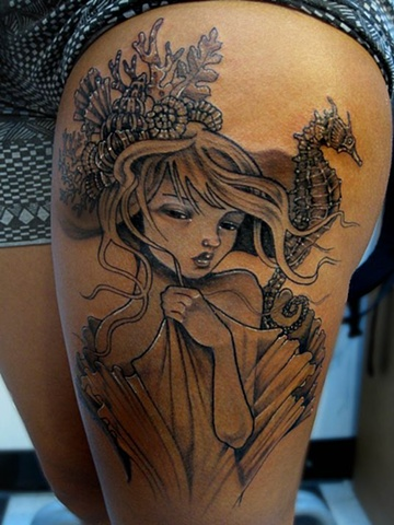 audrey kawasaki tattoo, audrey kawasaki, markus, markus anacki, kaleidoscope tattoo, cambridge, black and gray, boston, tattoo, markus, cambridge tattoo, boston tattoo, tattoo shop, tattoo shop cambridge, boston tattoo convention,