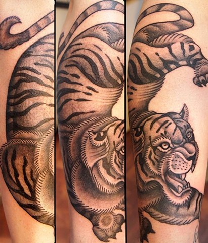tiger tattoo, black and gray, markus, markus anacki, chameleon tattoo, harvard square, cambridge, tattoo artist, boston, tattoo, i hate markus, cambridge tattoo, boston tattoo, tattoo shop, tattoo shop cambridge, boston tattoo convention,