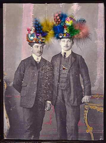 Two Men with Hats