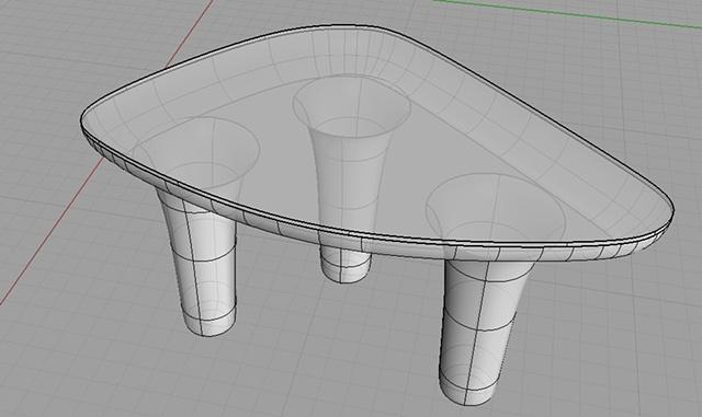 Melt Table Model