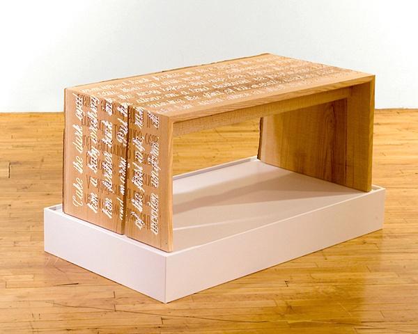 Palimpsest Bench
