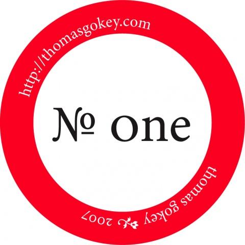 No. One
