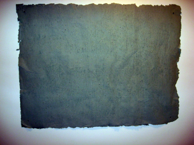 Total Amount of Money Rendered in Exchange for a Masters of Fine Arts Degree to the School of the Art Institute of Chicago, Pulped into Four Sheets of Paper