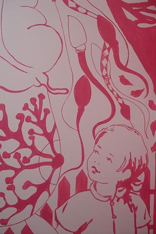 Mural, detail 2