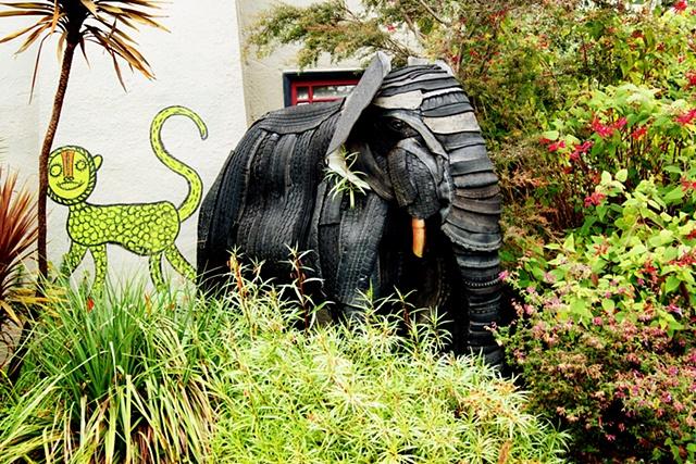 Elephant on Scenic