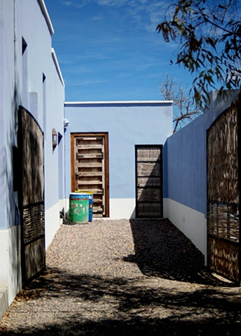 Driveway Blue Todos Santos All Saints Baja California