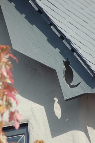 Cat silhouette Cragmont Berkeley Hidden Gems