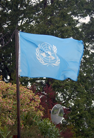 UN flag Berkeley hidden gems