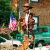 Skeleton Saxophonist, Marin