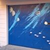 Aquarium Garage Door