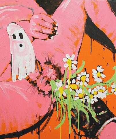 Our ladyboy of Flowers / spooky boner (for Jean Genet)