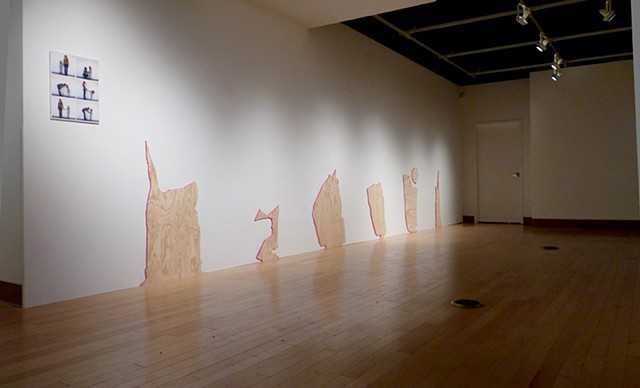 Performing Visibility- Exhibition View