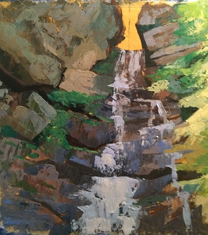 Phoenicia Creek, detail