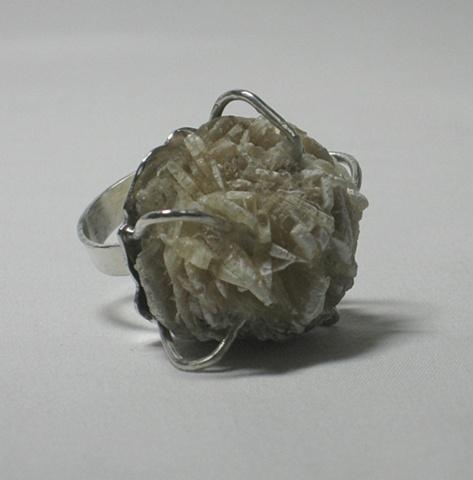 """""""Rose Gypsum Ring"""""""