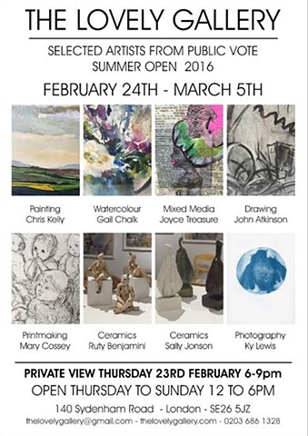 Selected Artists at The Lovely Gallery, winter 2017