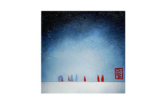 Snow storm / Tormenta de nieve