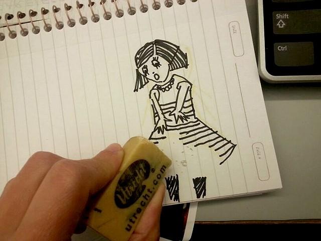 Please, don't erase me
