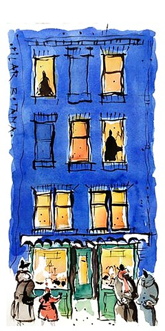 watercolor from my window pilar botana