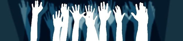 doctors, nurses, wave your hands