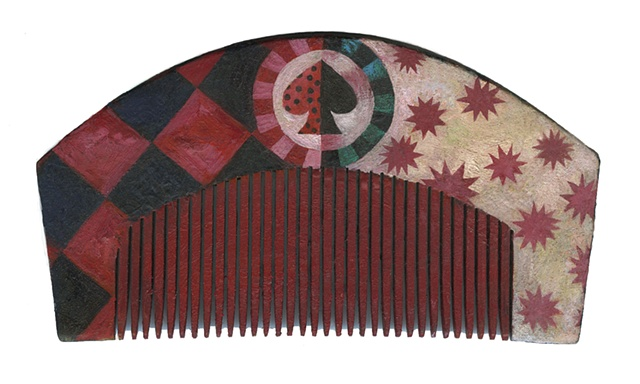 Japanese style hair comb