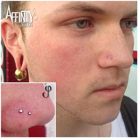 johnny pearce double nostril piercing bvla