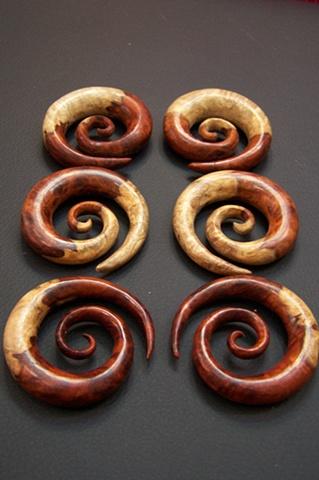 Ambonya Burl Spirals by Diablo Organics
