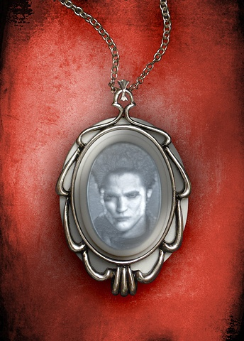 Robert Pattinson Lighted Lithophane Pendant Necklace