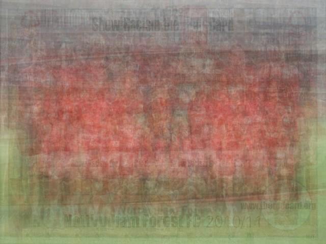 UEFA Nottingham Forest blurred blurry print soccer football Larkin team photo