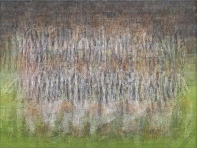 UEFA Juventus Italy blurred blurry print soccer football Larkin team photo