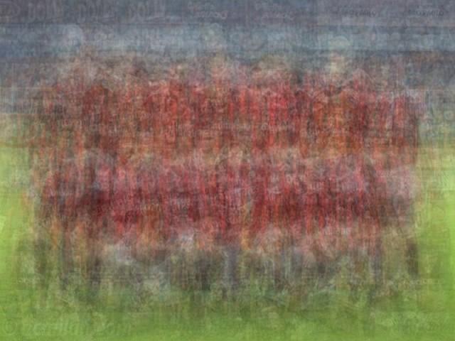 UEFA AC Milan blurred blurry print soccer football Larkin team photo