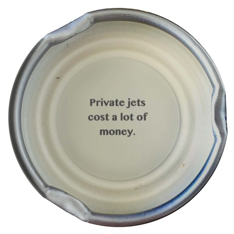 trump quotes contemporary art digital prints larkin Snapple lids private jets money