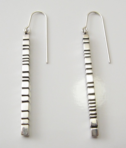 Sterling silver rearings lines & oxydation
