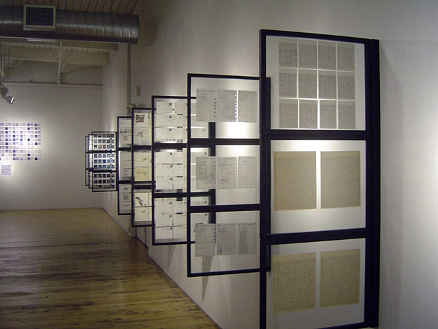 RE:180 Days (installation view detail)