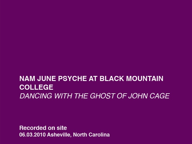 Dancing with the Ghost of John Cage